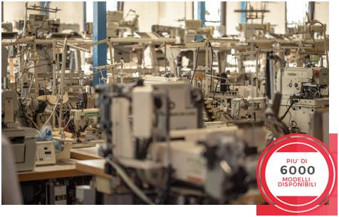 Home pastori s r l macchine da cucire industriali for Macchine cucire usate